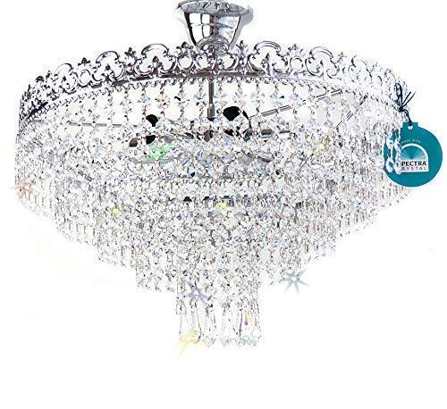 Cristal Lámpara de Techo Victoria Exclusivo O40cm con ...