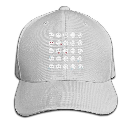Karoda Emoti Skeletons Adjustable Baseball Cap/Hat Hip Hop Hat Ash