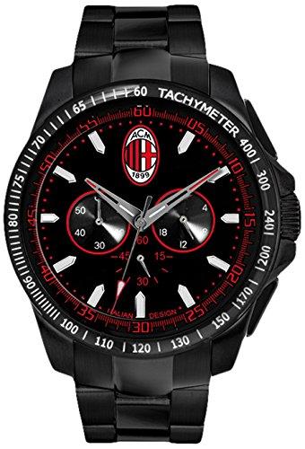 AC Milan Talento Crono M0394UNR-Reloj de Pulsera para Hombre: Amazon.es: Relojes