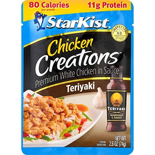 StarKist Chicken Creations Teriyaki - 2.6 oz Pouch (Pack of 12)