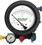 "Mid-West 845-5 5-Valve Backflow Test Kit, 18-1/2"" Length x 9"" Width x 9-3/4"" Height"