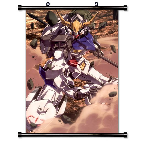 Mobile Suit Gundam Iron Blooded Orphans Anime Fabric Wall Scroll Poster  16X27  Inches