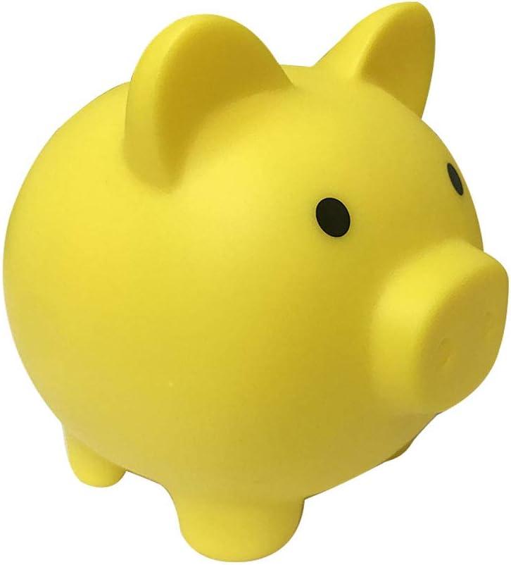 Yukooy Cartoon Piggy Bank Coin Bank Saving Pot Money Box for Boys and Girls Birthday Gift Red