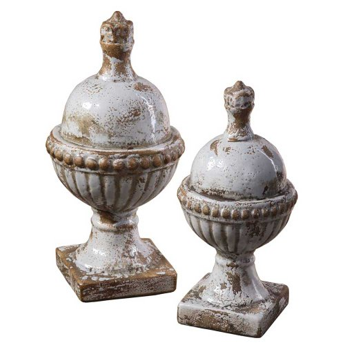 Uttermost Sini Finials, Set of 2 by Uttermost