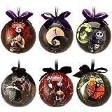 Amazon.com: NIGHTMARE BEFORE CHRISTMAS Plush Ornament Set ...