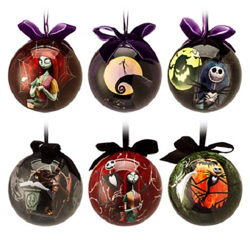 Disney Tim Burton's The Nightmare Before Christmas Ball Ornament