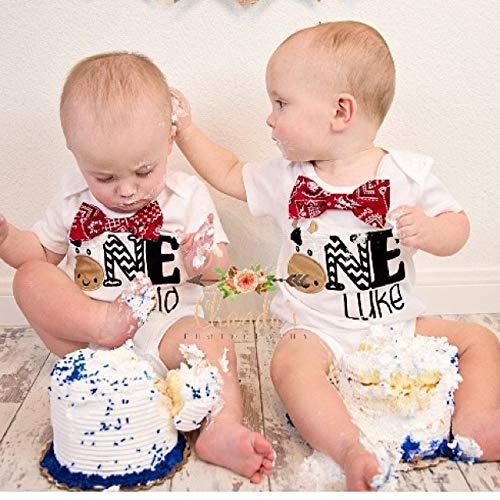 Amazon Boy First Birthday Cow Baby Western Cake Smash One Year Outfit Farm Rodeo Shirt Family Shirts