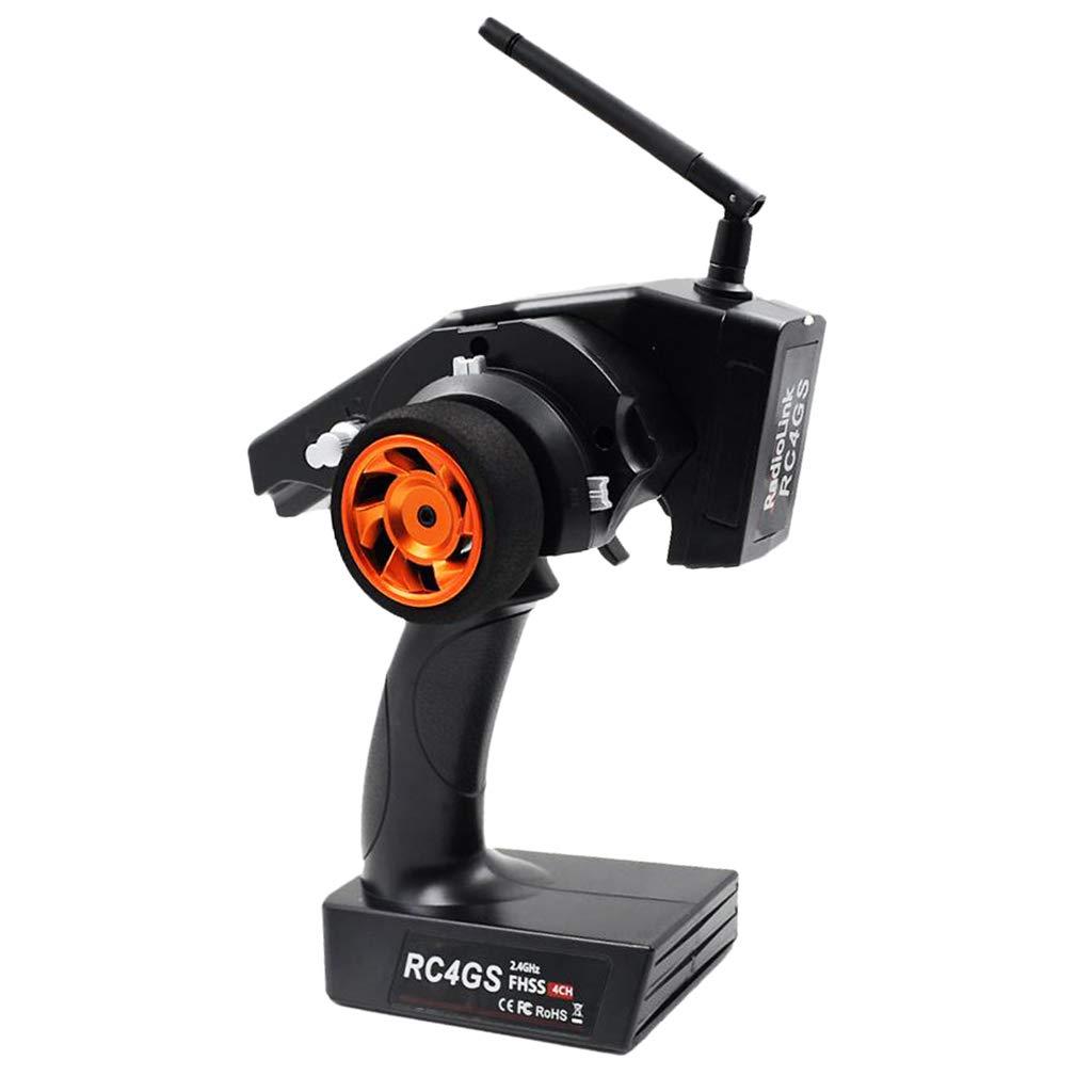 KESOTO Transmisor RC4GS + Receptor R6FG para RC Barcos Coche Vehículo de Control Remoto