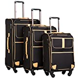 Best Luggage Set Spinners - Coolife Luggage 3 Piece Set Suitcase with TSA Review