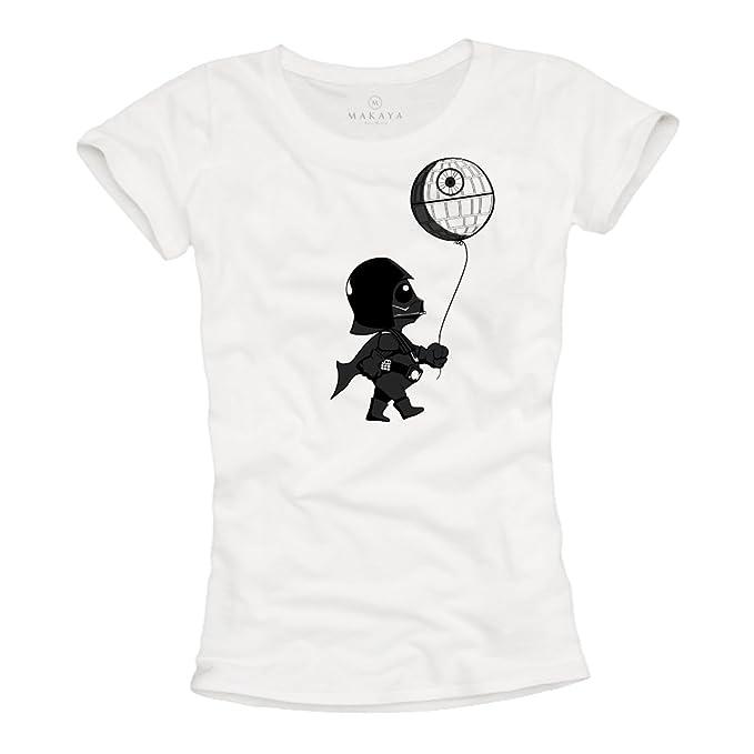 Baby Vader - Camisetas Divertidas Originales Mujer: Amazon.es: Ropa y accesorios