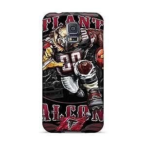Best Hard Phone Cases For Samsung Galaxy S5 (DEJ21634LYOU) Unique Design Lifelike Atlanta Falcons Pattern