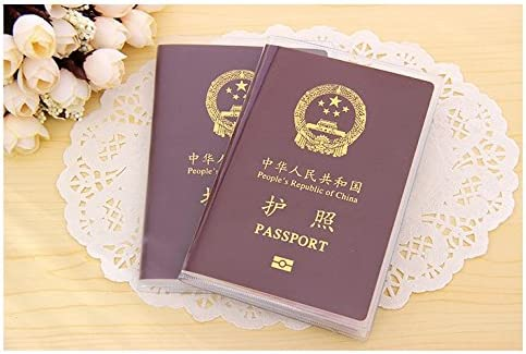 DALAI 1PC Transparent Passport Cover Holder Waterproof ID Card Passport Travel Protector Cover