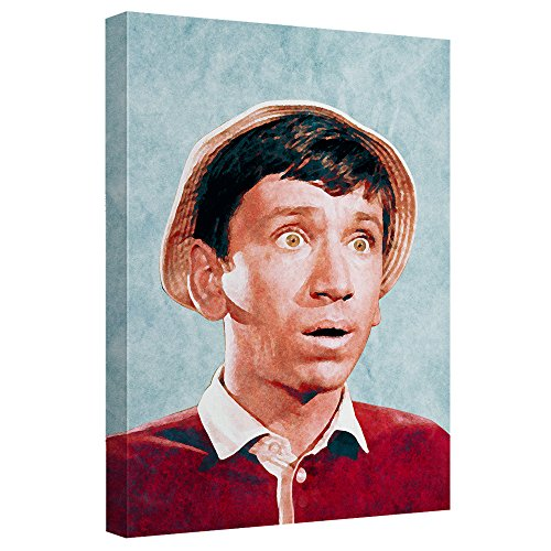 Gilligan's Island Bob Denver Print on Canvas