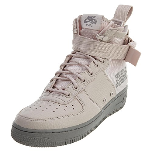 NIKE Women's SF AF1 Mid Silt Red/Silt Red/Dust Basketball Shoe 8.5 Women US by NIKE