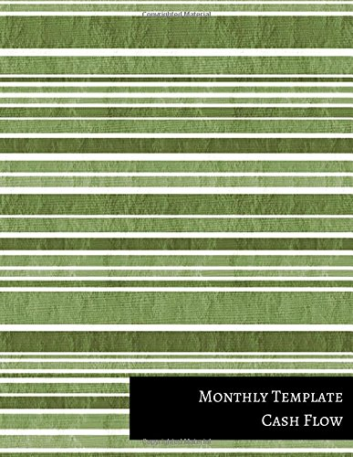 Monthly Template Cash Flow