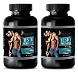 Testosterone booster for men over 50 - TESTO BOOSTER 855Mg - Men testosterone booster for muscle sex drive - 2 Bottles 120 Capsules