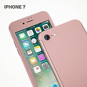coque 360 iphone 7 rose