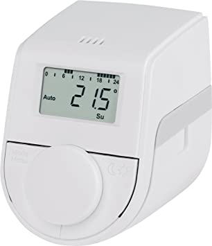 Termostato de radiador Eqiva, Blanco, 143478A0