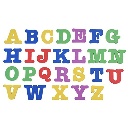 BCP set of 26 pcs 2inch EVA Magnetic Letters Alphabet for Kids Learning (Uppercase Letters) Oic Letter