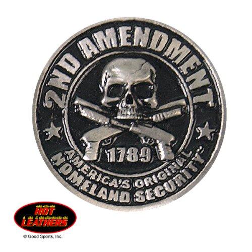"2nd Amendment 1789 America's Original Homeland Security 1.5"" Hat or Lapel Pin"