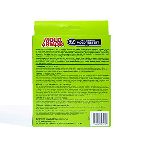 Mold Armor FG500 Do It Yourself Mold Test Kit FG500, FG500 Do It Yourself Mold Test Kit, Gray