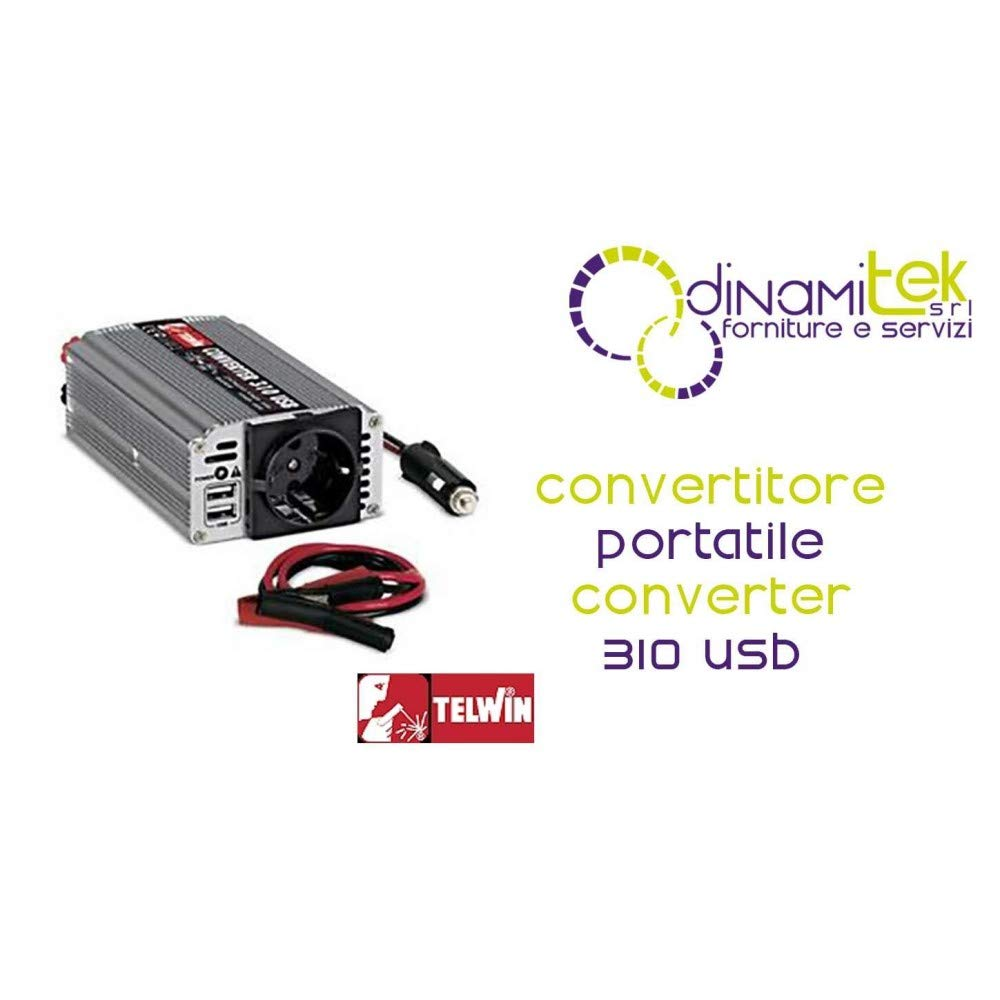 Telwin Converter 310 USB - Te-829 444 - convertitore di potenza 829444