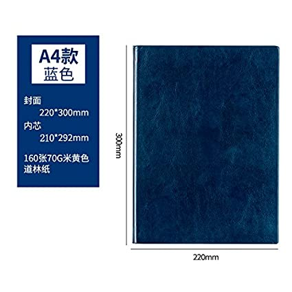 XIAOXINYUAN Negocio De Papelería Cuaderno A4 Bloc De Notas ...