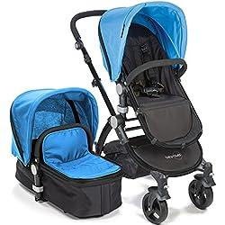 babyroues Letour IIB Stroller, Blue