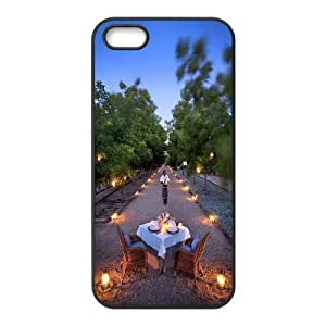 Customized Cover Case for iPhone 5,5S - Romance Town case