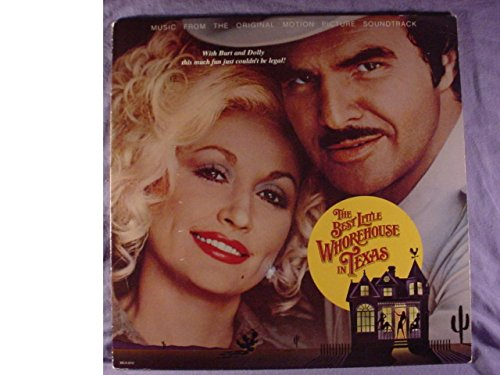 Dolly Parton Near Mint Movie Soundtrack Stereo Lp - The Best Little Whorehouse In Texas - Also Featuring Burt Reynolds - MCA Records 1982