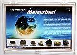 Understanding Meteorites Rock Study Collection Set with Free Mars Analog Soil