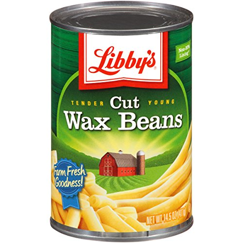 Libby's Cut Wax Beans Cans, 14.5 Ounce (Pack of 12) (Best Canned Beans To Eat)
