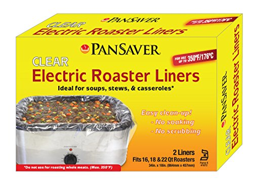 PanSaver Electric Roaster Liners