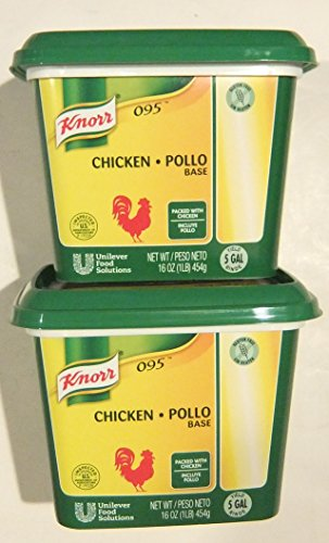 Shop Chicken (Knorr LeGout 095 Chicken Base Gluten Free 16 Ounce  (2 Pack))