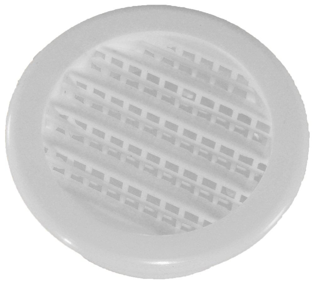 Speedi-Products SM-RSV 2,2-Inch Diameter Plastic Round Soffit Vent