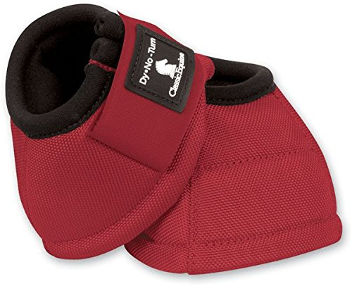 Classic Equine Dyno No-Turn Bell Boots B00DCB13IM Large|Red
