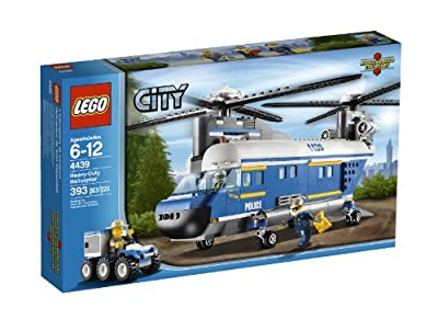 Lego City Police Heavy-lift Helicopter 4439 by LEGO