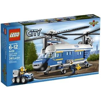 Amazon Lego City Police Helicopter Surveillance Building Set