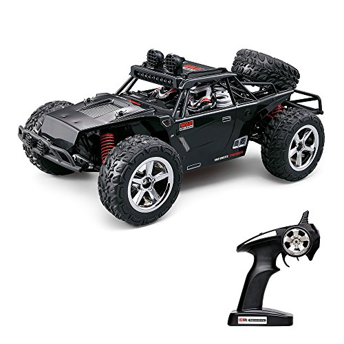 Vatos RC Trucks Remote Controls RC Cars Off Road High Speed 4WD 40km/h 1:12 Scale 50M Remote Control 2.4GHz Electric Vehicle Buggy Trucks with LED Night Vision VL-BG1513B-B(Black)(BLACK) (Rc Trucks Cars compare prices)