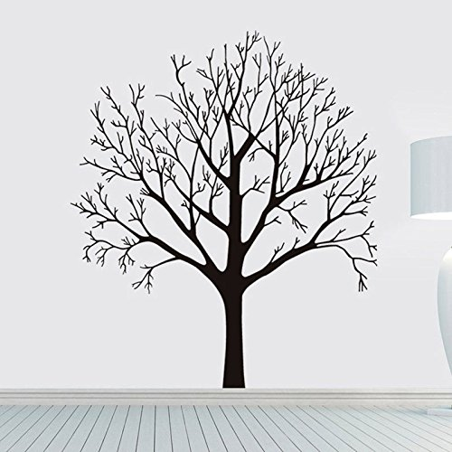 Shalleen Black Tree Removable Decal Room Wall Sticker Vinyl Art Hot DIY Decor Home - Brown Justin Call