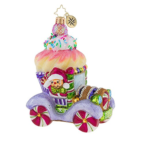 Christopher Radko Hop In, Cupcake! Christmas Ornament by Christopher Radko