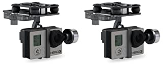 2 x Quantity of Walkera QR X800 FPV 5.8Ghz G-2D 2 Axis Brushless Gimbal for / GoPro Hero 3 / Sony Camera