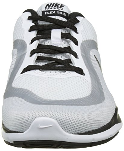 6 White Trainer Shoes Nike Training Flex Women's Azwwq6O