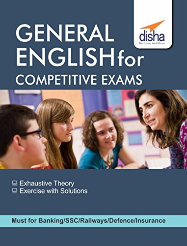 General English for Competitive Exams - SSC/Banking/Railways/Defense/Insurance