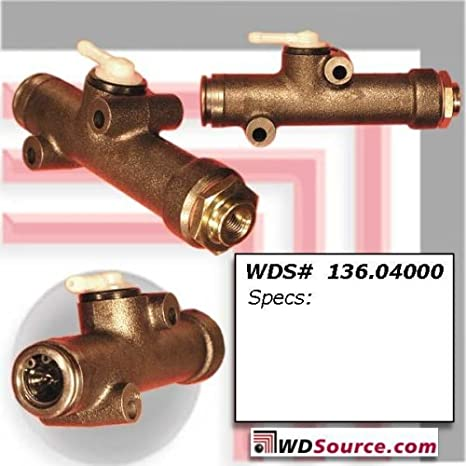 Centric Parts 136.34000 Clutch Master Cylinder
