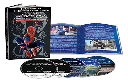 Amazing Spider-Man 2/Amazing Spider-Man, the - Set 4K UHD and Blu-Ray