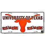 Signs 4 Fun Slctu TX Univ. Kick'EM Horns, License Plate