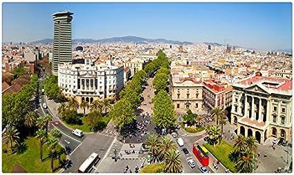 España casas carreteras Megapolis desde arriba Barcelona citiess sitios de viajes postal Post tarjeta: Amazon.es: Oficina y papelería