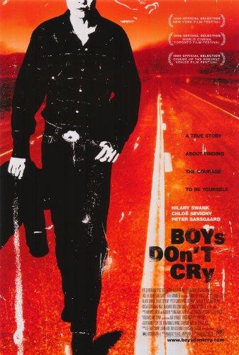 Boys Don't Cry Movie Poster (27 x 40 Inches - 69cm x 102cm) (1999) -(Hilary Swank)(Chloe Sevigny)(Peter Sarsgaard)(Brendan Sexton III)(Alison Folland)(Alicia (Lecy) Goranson)