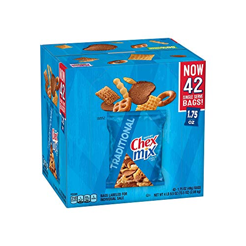 An Item of Chex Mix Traditional Savory Snack Mix (42 pk.) - Pack of 1 - Bulk Disc